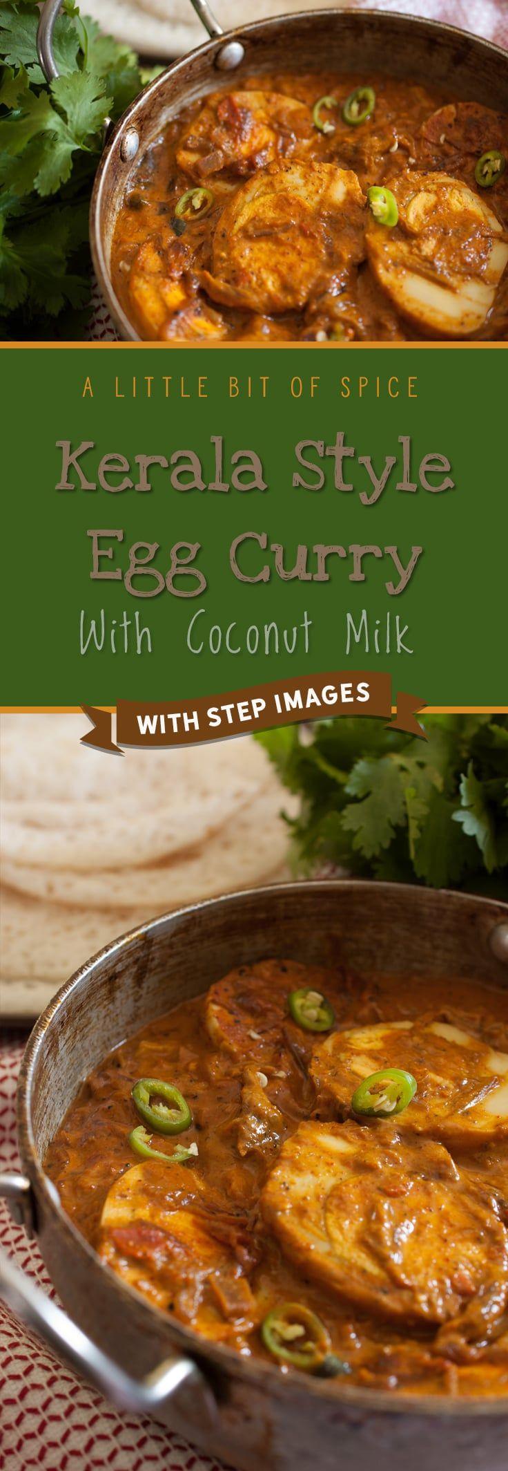 Kerala Egg Curry With Coconut Milk (Nadan Mutta Curry)