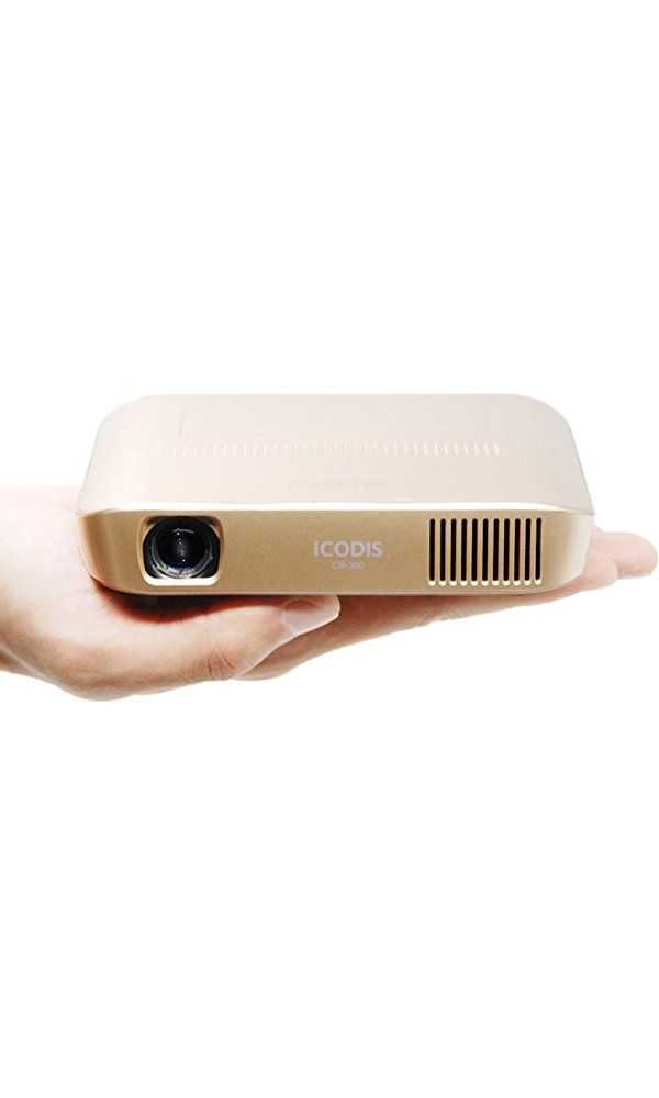 ICODIS CB-300 Pico Projector 3D HD Video with DLP 1800 Lumen, Mini HDMI,30,000 Hour Led Life, Mobile Pocket Movie and Entertainment Home Theater Best Price