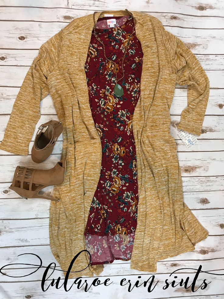 This is the perfect fall pairing! this gorgeous LuLaRoe Carly and LuLaRoe Sarah.