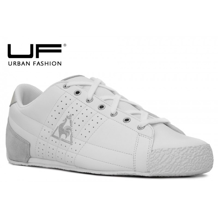 Le Coq Sportif Escrime Leather White