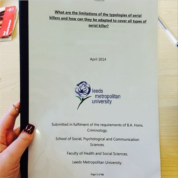 Goes front cover dissertation
