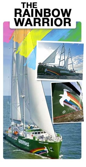 We're getting closer to the Rainbow Warrior's Cape Town visit! Leave your details here if you'd like to be kept in the loop about events.
