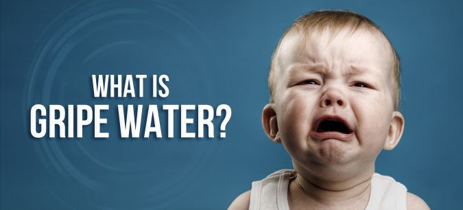 Gripe water is an age-old remedy for colic. #babies #parenting