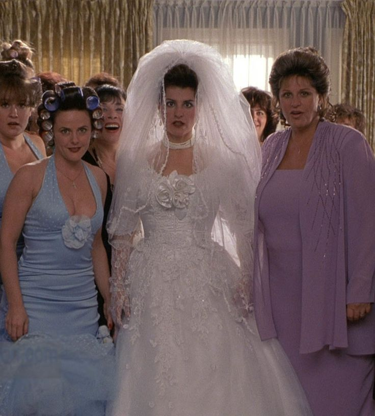 these iconic movie wedding dresses will take you way way back