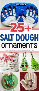 25+ Salt Dough Ornaments for Christmas
