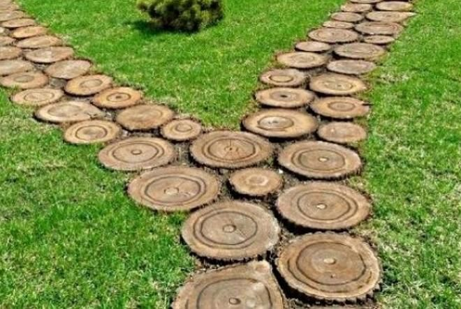 Садовые дорожки своими руками: 9 оригинальных идей