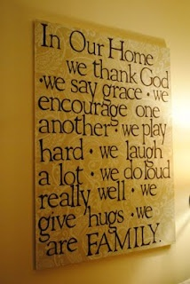 For my bare wall!  Love this!: Idea, Craft, Things, House, Quote Art, Homes, Families, My Family, Family Quotes Art