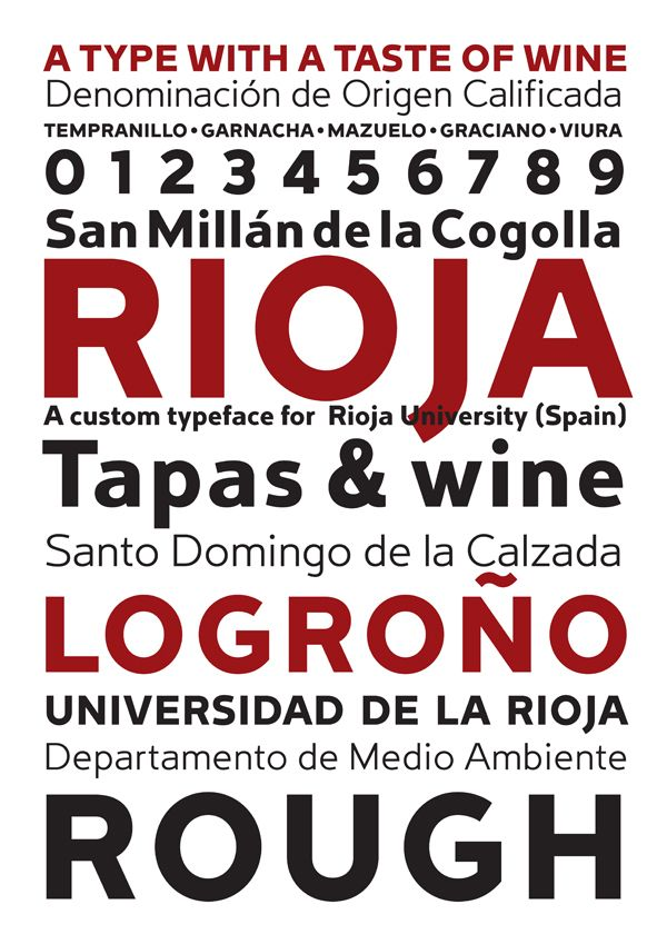 Rioja by Andreu Balius, via Behance