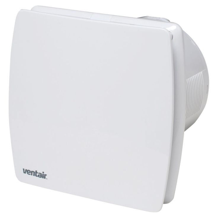 Ventair Universal Wall Exhaust Fan White 150mm
