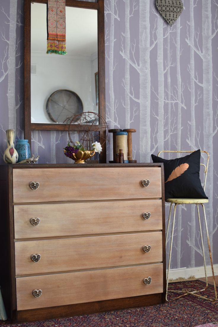 Re-loved chest of draws by Helen Edwards @Recycled_Int #feastwatson #relove #upcycle @salvosstores #salvos