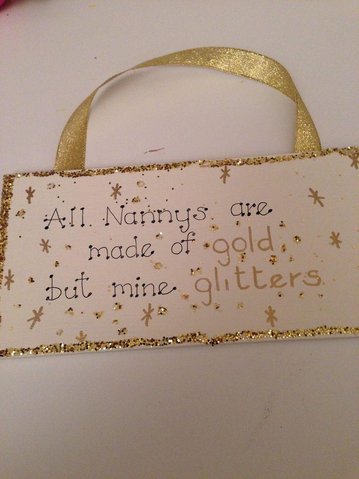 Nanny glitters