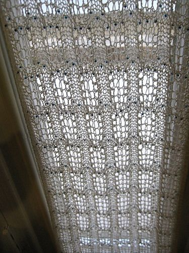 Free Knitting Patterns For Lace Curtains : 17 Best images about crochet curtains on Pinterest Filet crochet, Free croc...
