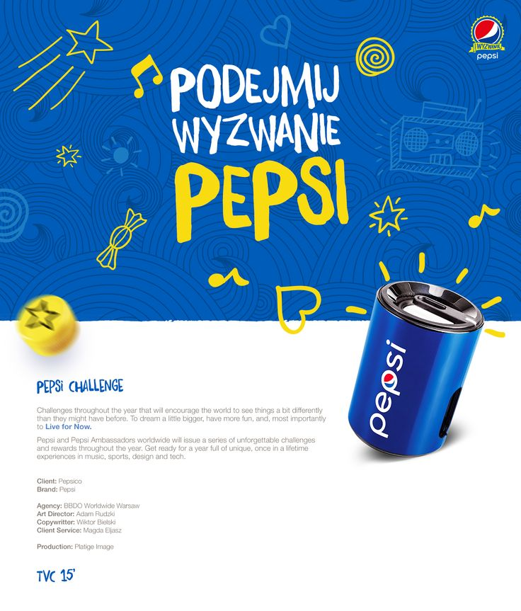 Pepsi Challenge TVC on Behance