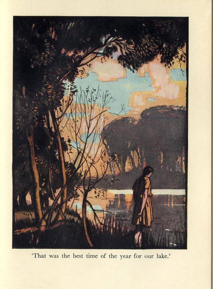 Rowland Hilder's illustrations for Precious Bane. Images of calm beauty for a wonderful novel.