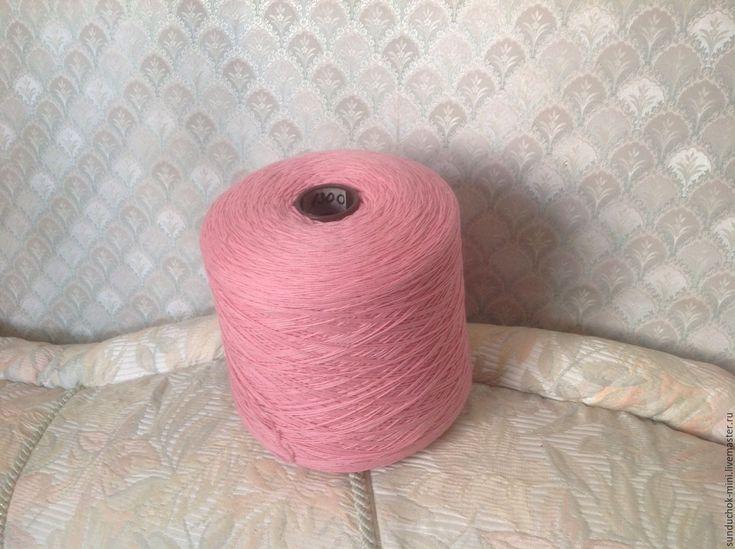 Купить Пряжа шерсть на бобинах 6 цветов - комбинированный, пряжа для вязания, пряжа для вязания крючком