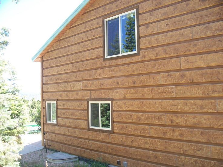17 best images about everlog siding concrete log homes on E log siding