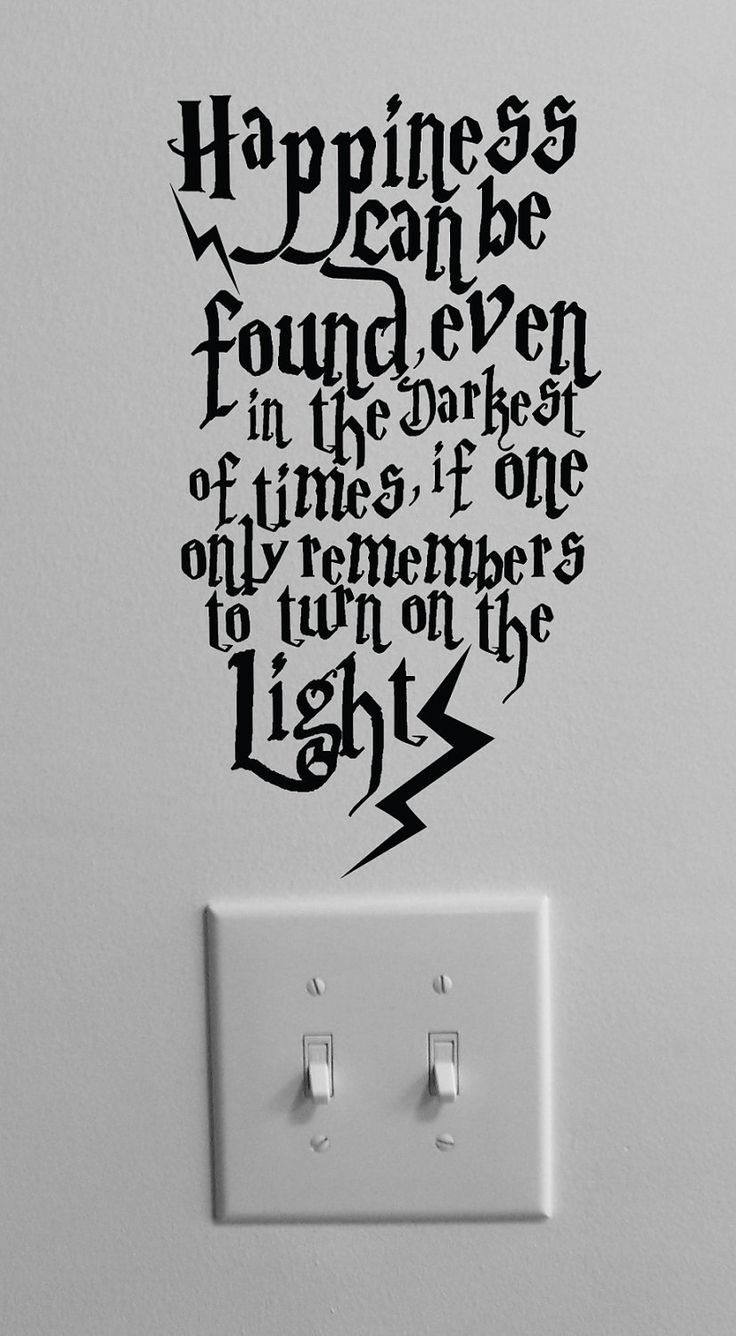 uh best thing on Etsy. EVER.Wall Art, Ideas, Lights Switched, Happy, Wall Decals, Harrypotter, Kids Room, Albus Dumbledore, Harry Potter Quotes
