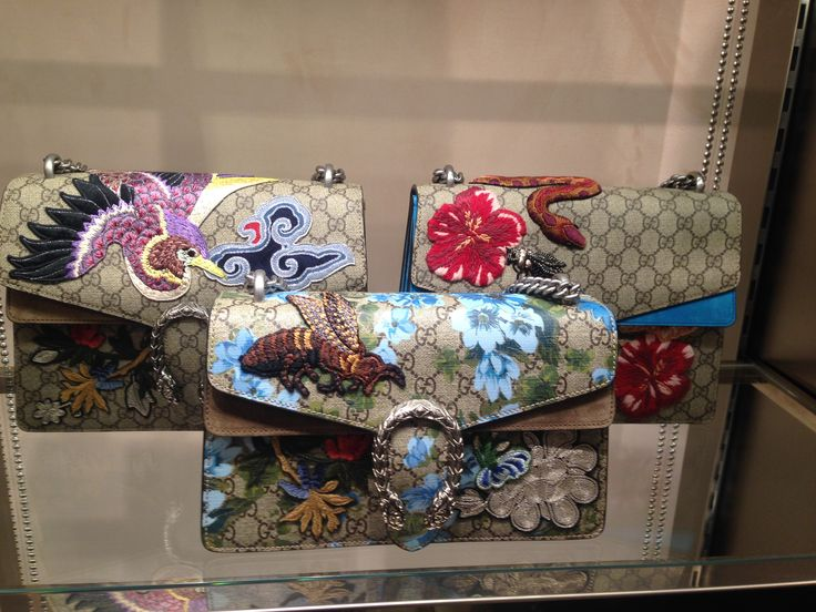 "Louis Vuitton's ""nature"" clutches"