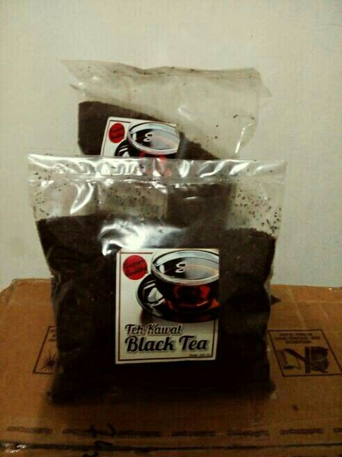 Black tea 250 gram only IDR 13,000 kerinci mountain sumatra tea indonesia.