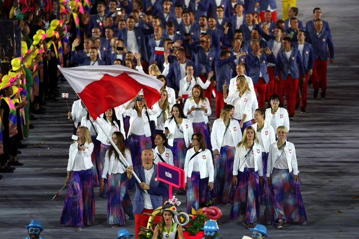 Rio Opening Ceremonies Parade of Nations - Poland