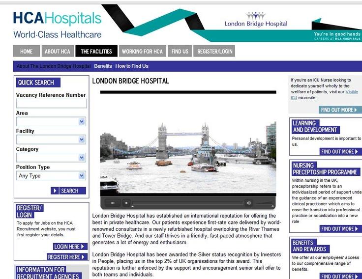 London bridge hospital awarded iip silver london bridge