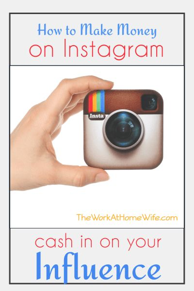 Great list of ideas on how to make money on Instagram