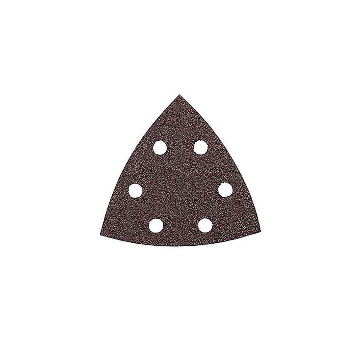 Bosch SDTR242 Detail Triangle Hook & Loop Sanding Sheet with 240 Grit (Pack of 2 Material Removal Accessories Sander Accessories Sanding Sheets