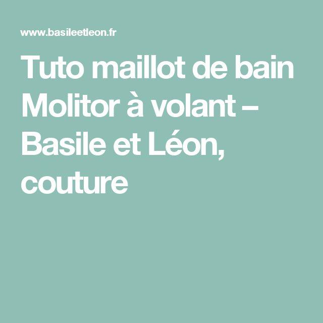 Tuto maillot de bain Molitor à volant – Basile et Léon, couture