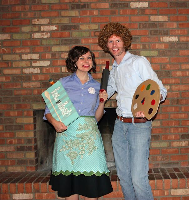 Best 25 bob ross halloween costume ideas on pinterest bob ross 21 diy costumes adults can rock this halloween solutioingenieria Image collections