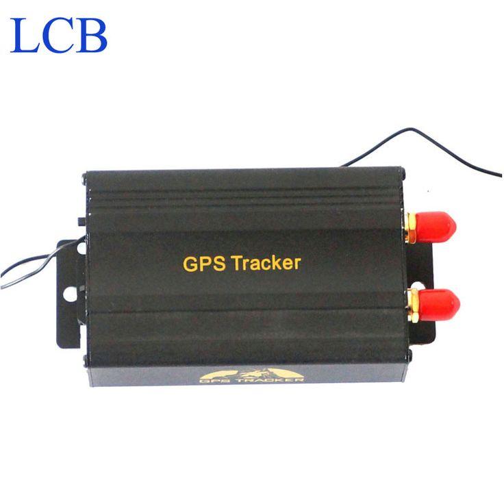 TK103B Kendaraan GPS tracker Remote Control Portoguese Manual Quad band SD card GPS 103 PC & web berbasis GPS sistem gratis pengiriman