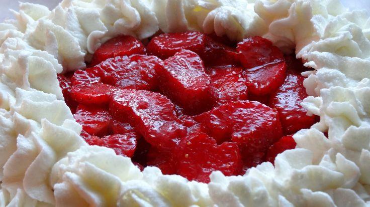 Konyha Naplóm: Epres-joghurtos torta