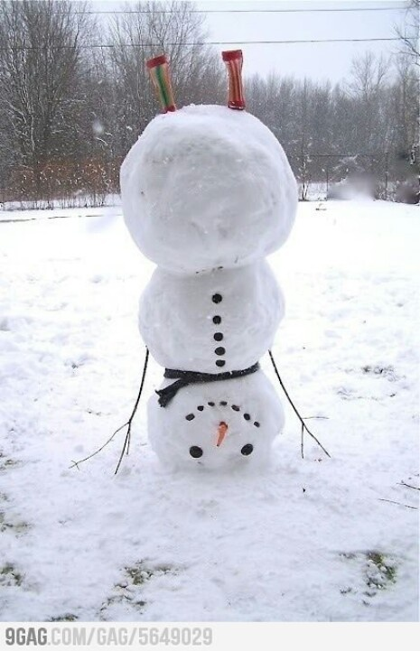 Look at me!!! Frosty had a little to much eggnog