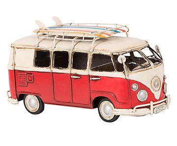 Adorno Automóvel Delux Bus 1966 One - 27cm