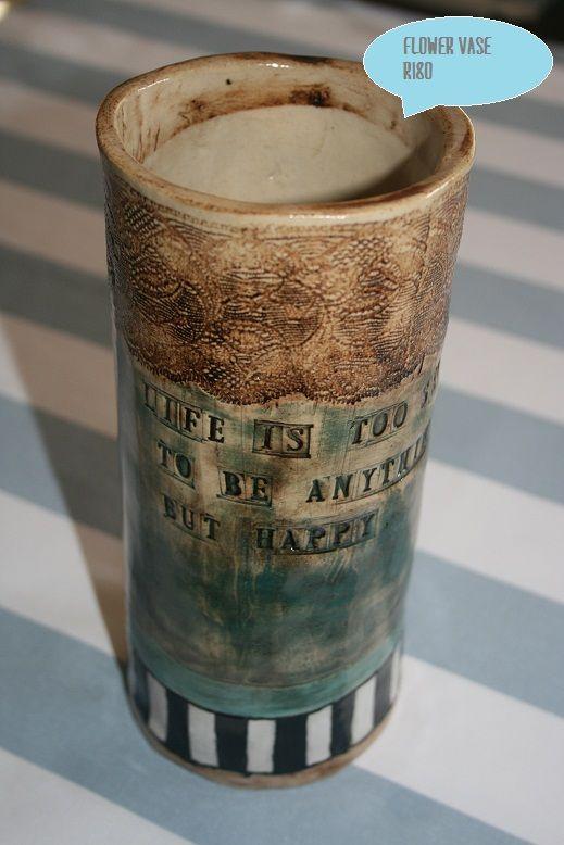 Flower vase - height: 22cm