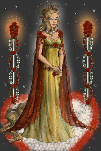 Aphrodite, goddess of love, beauty and pleasure ~ by ...