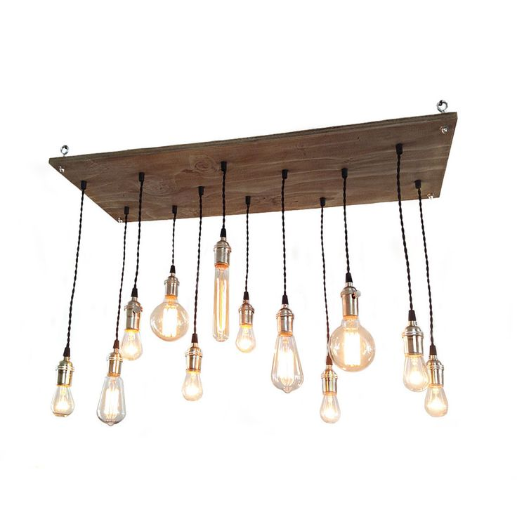 This is one bright idea: twelve Edison bulbs shine the light on your home together. You'll never be left in the dark again.