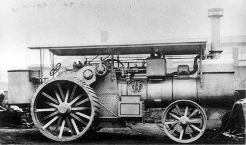 Fowler Steam Engine
