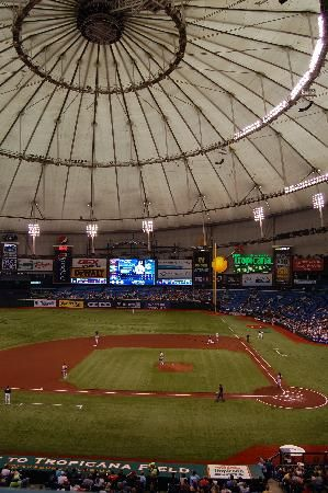Tropicana Field - Tampa Bay Rays: Baseball should be played outside.