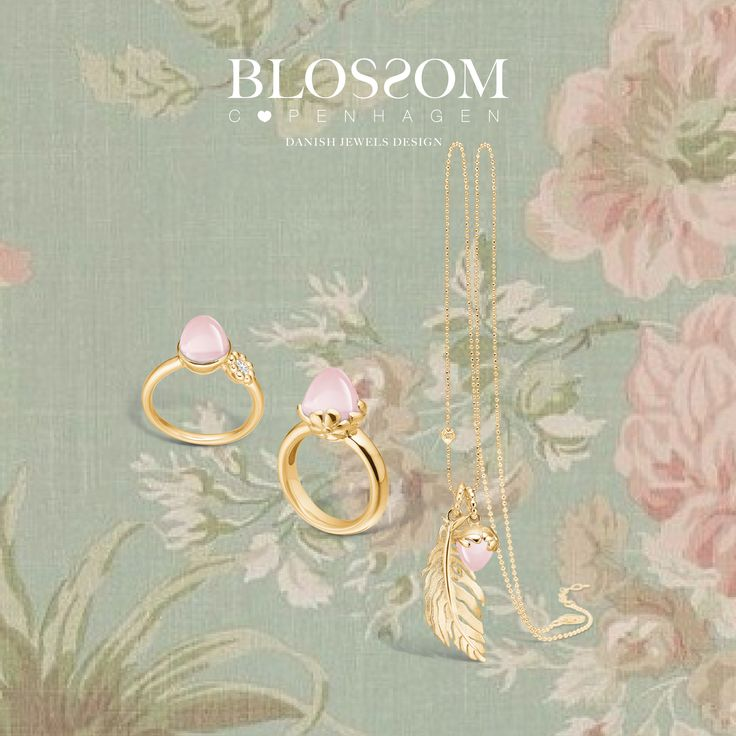 www.blossomcopenhagen.com or www.houseofjew.com Danish designed jewellery collection by Christina Elbro Lihn - Show your love, and let it Blossom....