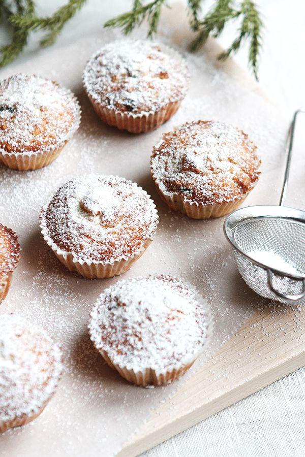 Christmas Stollen Muffins | Fig + Honey