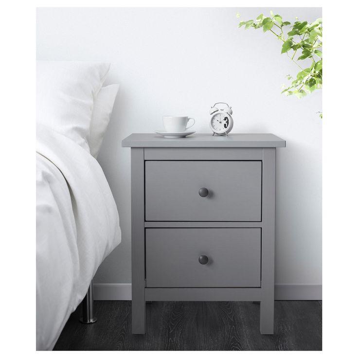 Ikea Hemnes Kommode Grau 2021