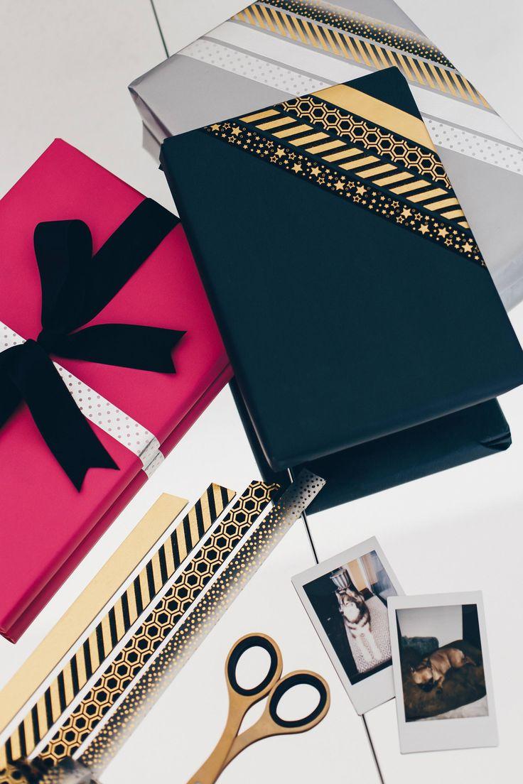 Einfache und kreative Geschenkverpackungen für Weihnachten selber machen!