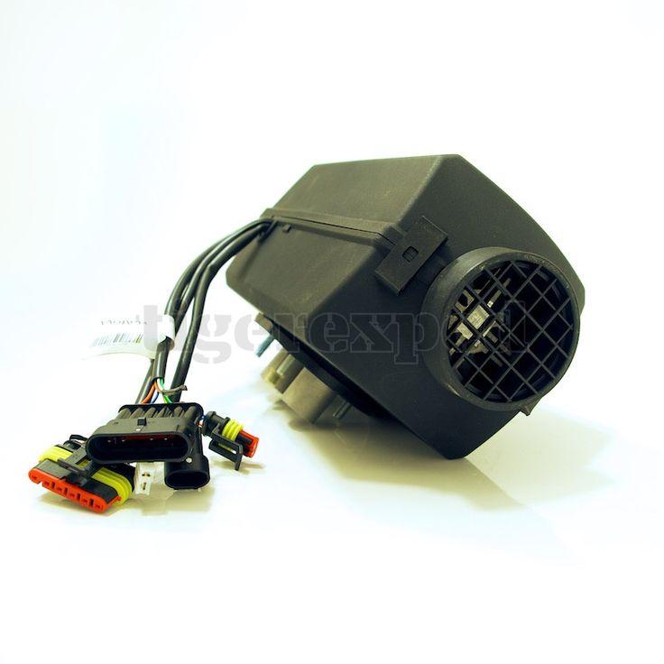Planar 2D Diesel-Luftstandheizung 2kW 12V inkl. Einbaukit & Abgas