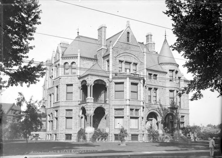 The David Whitney House located at 4421 Woodward Avenue in Detroit. Whitneys considerable wealth came from the lumber industry and he used his fortune to construct this expansive stone mansion. The home featured the first personal use elevator in the city of Detroit and in todays economy would cost over $10 million dollars. Detroiters today know the building simply as The Whitney, one of midtowns favorite restaurants.