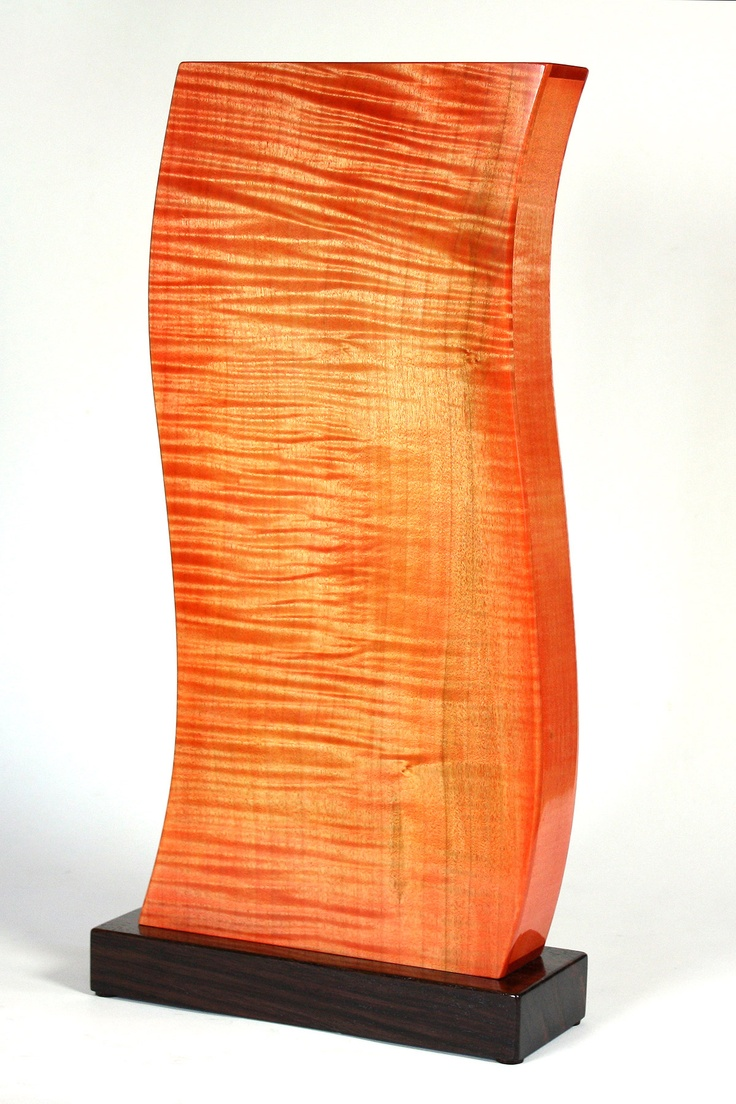 Inferno by Norman Pirollo  of Metcalfe, Ontario. 2013 NICHE Awards Finalist. Category: Wood, Painted/Colored