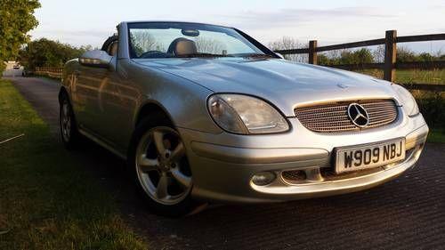 Mercedes SLK 320 V6 ONLY 78,000 MILES FOR SALE For Sale (2001)