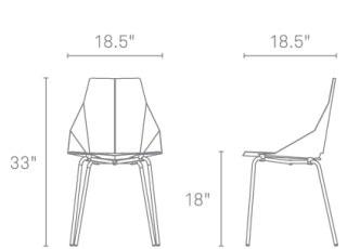Modern Chair   Real Good Chair By Blu Dot