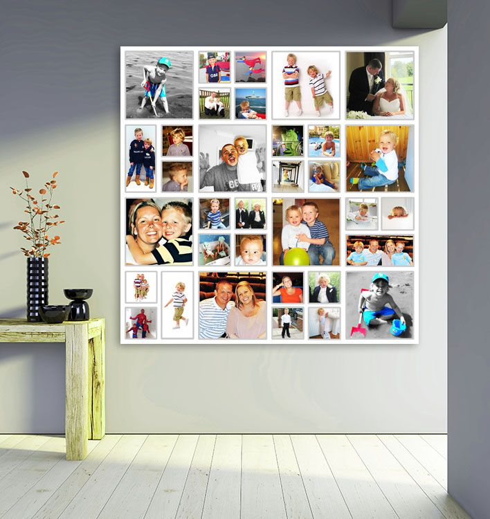 our regency photo collage on canvas is absolutely stunning in print and the perfect way to - Picture Collages