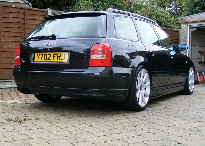 Audi A4 1.8T B5 Avant Coilovers and 18 alloys