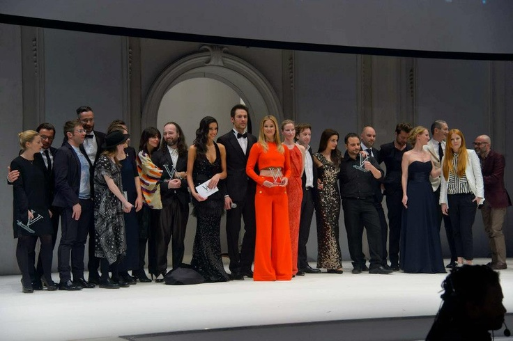Rebekka Ruetz - Best Newcomer presented by STEFFL - die Verleihung    Vienna Awards for Fashion and Lifestyle 2013, Museumsquartier MQ Halle E, Wien, 21.3.2013, Show, Bühne, Laufsteg, Modenschau, Verleihung Andreas TISCHLER